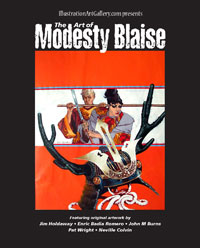 The Art of Modesty Blaise:Art Catalogue